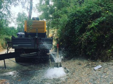 Sondejos de viabilitat i control hídric