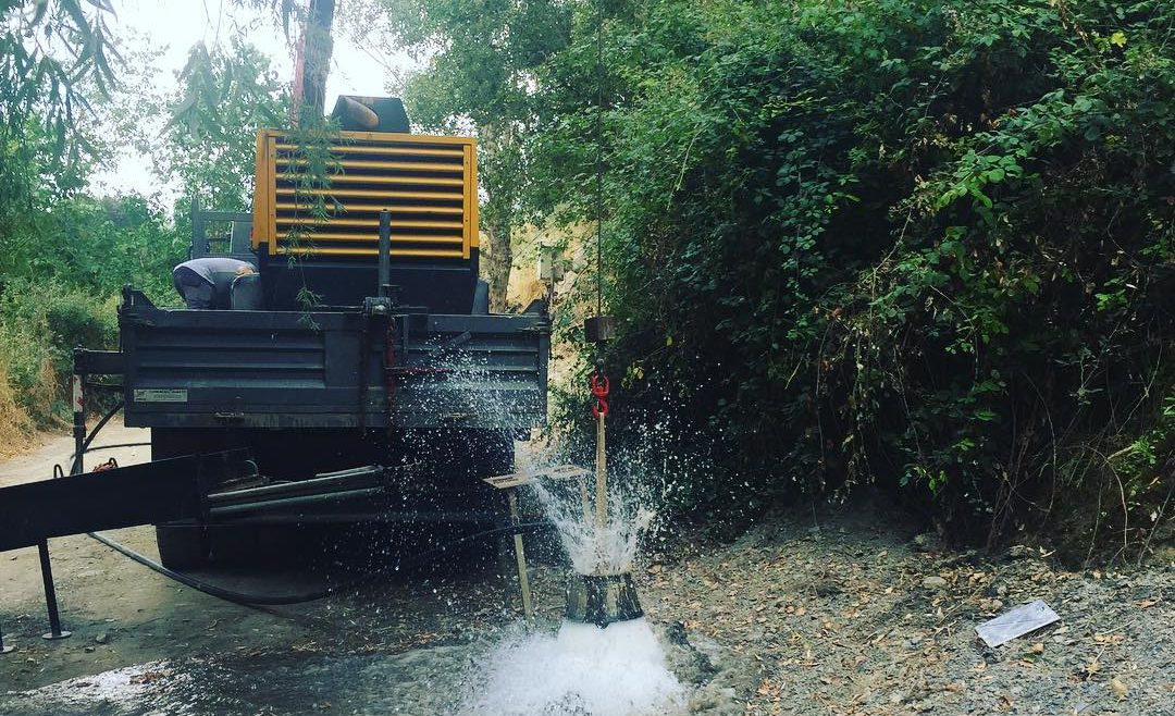 Sondeos de viabilidad y control hídrico